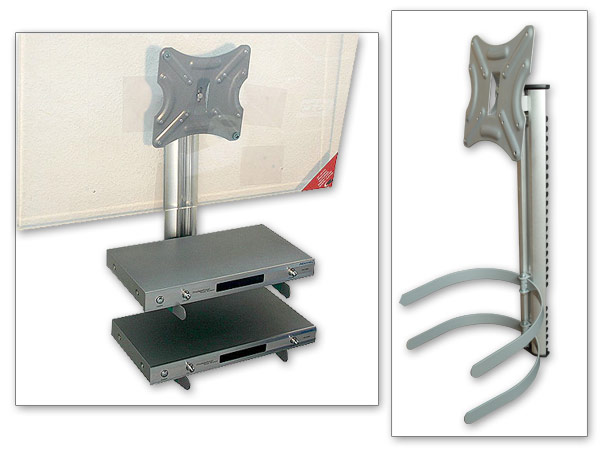 Tv wandhalter dvd bluray vcr player rekorder ablage konsole receiver tr ger ebay - Kabelabdeckung wand tv ...