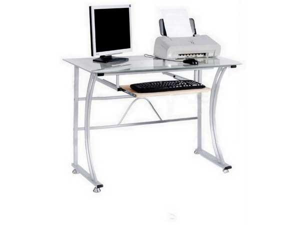 Computertisch b ro tisch glastisch schreibtisch pc tisch for Mobel computertisch